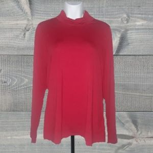 PETER NYGARD MOCK NECK BLOUSE